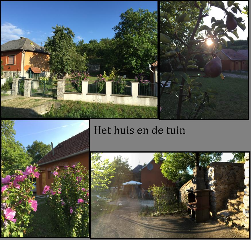 collage huis en tuin