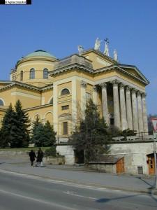 de basiliek in Eger
