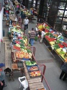 markthal in Eger