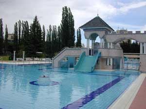 zwembad en thermaalbaden Eger